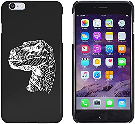 Azeeda Negro Dinosaurio Raptor Funda Carcasa para iPhone 6 Plus /& 6s Plus MC00150955