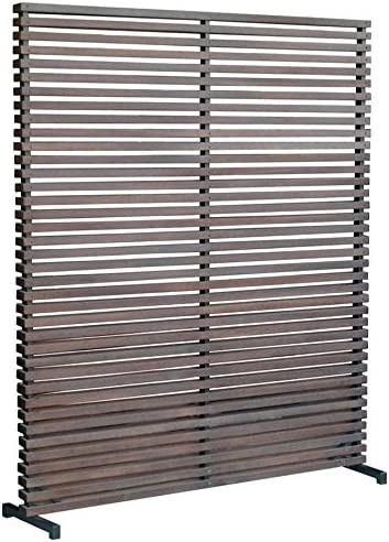 Moe s Home Collection Gallin One-Panel Room Divider, Brown