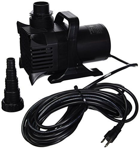 Algreen MaxFlo 20000 to 5500 GPH Pond and Waterfall Pump for Gardening (Gph Pump 5500 Waterfall)