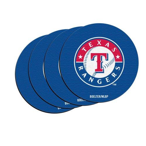 MLB Texas Rangers Neoprene Car Coasters