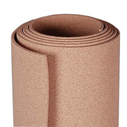 Manton Cork Roll, 100% Natural, 4' x 12' x 1/4