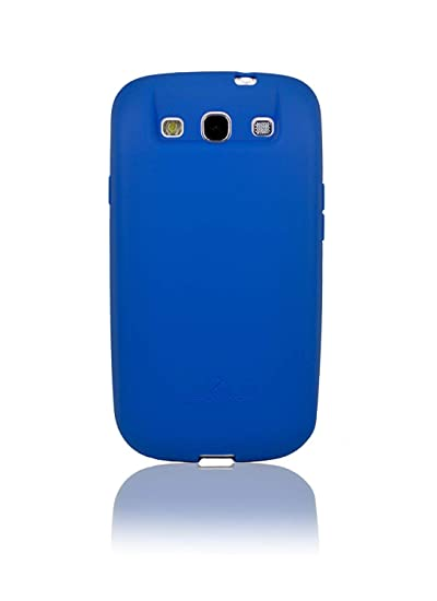 new style 4be61 0411f [180 days warranty] ZeroLemon Samsung Galaxy S III Blue Extended TPU Full  Edge Protection Case Only for 7000mAh Extended Battery Battery NOT Included  ...