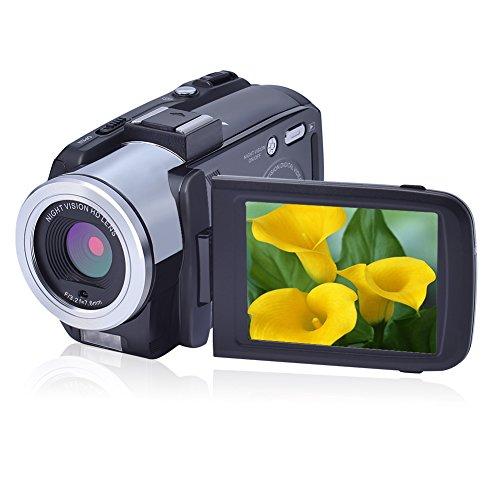 Camcorders FHD 1080P 24.0 Megapixels Portable Digital Video Camcorder Night Vision Camera DV 16X Digital Zoom