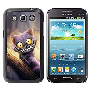 Design for Girls Plastic Cover Case FOR Samsung Galaxy Win I8550 Friendly Monster Cat OBBA