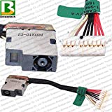 AC DC Jack Power Plug in Charging Port Connector Socket with Wire Cable Harness Replacement for HP Pavilion 15-CU 15-CU0010NR 15-CU0058NR 15-CU0071NR