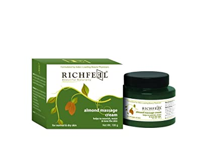 Lotionen & Cremes Massage Richfeel Almond Massage Cream,help To Nourish Moist And Tone The Skin100g