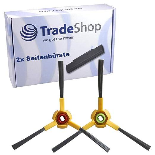 Trade-Shop - Juego de 2 cepillos laterales para Ecovacs Deebot D73 ...