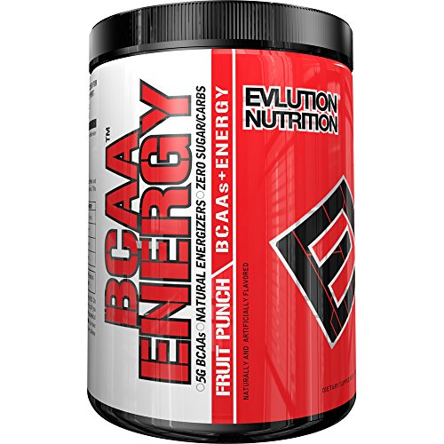 Evlution Nutrition BCAA Energy, Fruit Punch, 30 Servings