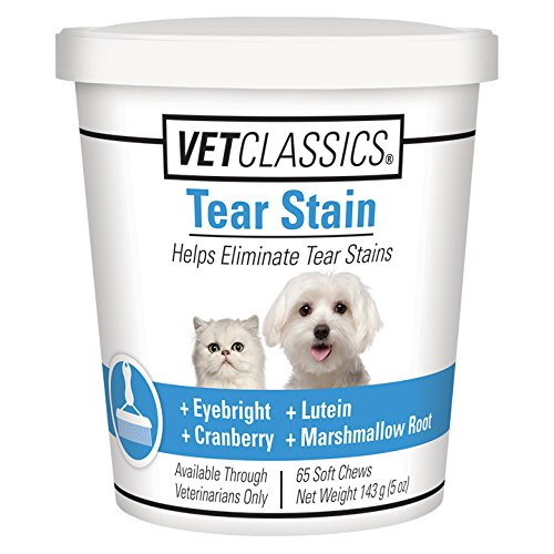 Tear Stain for Dogs Cats (65 Soft Chews)