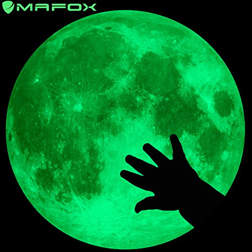 mafox-glow-in-the-dark-wall-or-ceiling-moon-stickers-luminous-decal-stickers-for-simulated-moon-effe