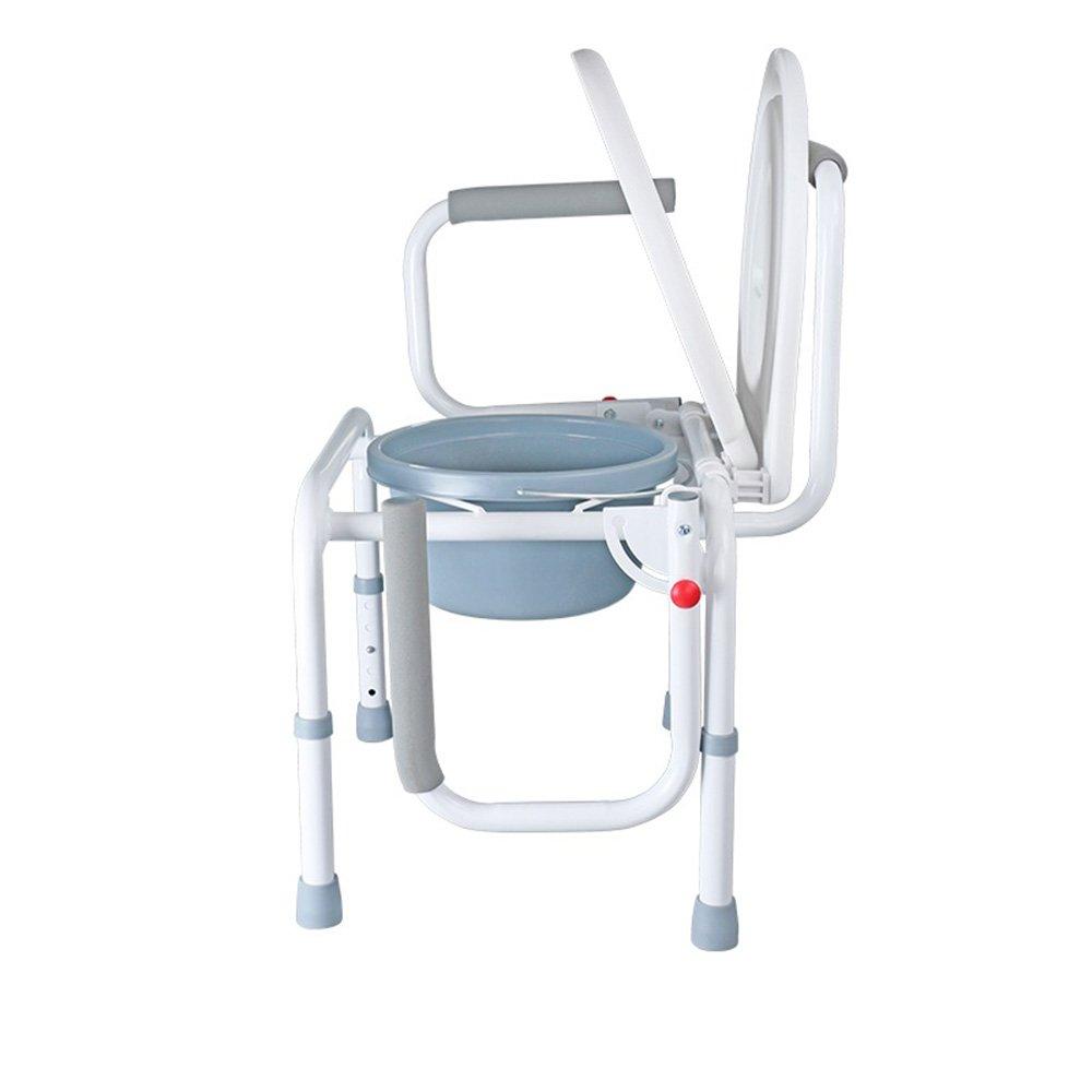 QFFL Asiento de baño Inodoro para los Ancianos Asiento de ...