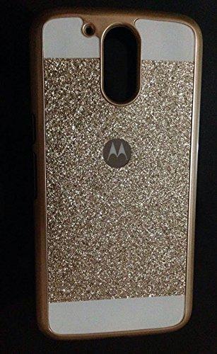 best authentic 642d2 e4634 Shiney Glitter back cover for Motorola Moto g4/moto g4 plus Gold