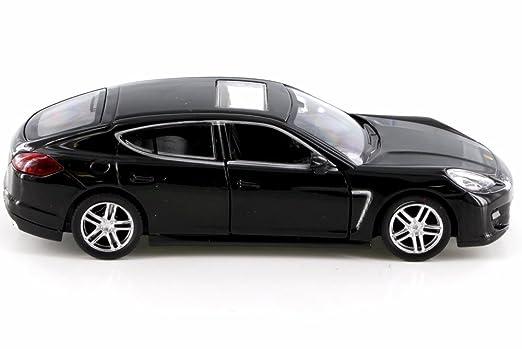 Amazon.com: RMZ City Porsche Panamera Turbo, Black 555002 - Diecast Model Toy Car but NO BOX: Toys & Games