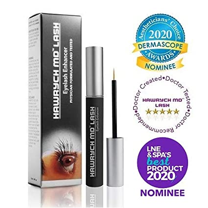 Best Eyelash Growth Serum 2020.Hawrych Md Lash Boost Eyelash Enhancing Serum Eyelash Enhancer For Longer Lashes Thicker Lashes And Fuller Lashes Natural Lash Conditioner And