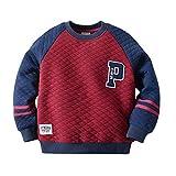 #7: mimiwinga Boys Pullover Sweater Cotton Kids Cartoon Cotton Sweatshirt
