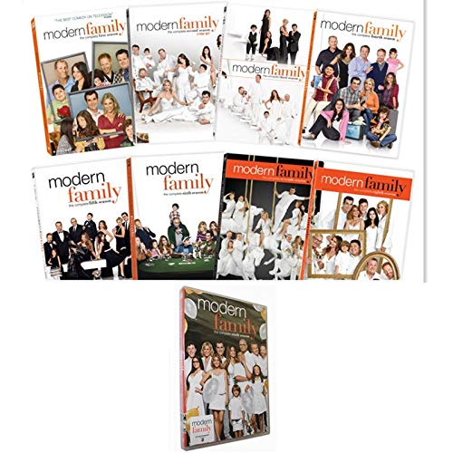 Modern Family Complete Seasons 1-9 DVD Bundle ()