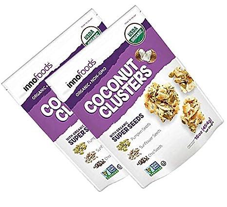 InnoFoods – Clusters de coco con semillas orgánicas de súper ...