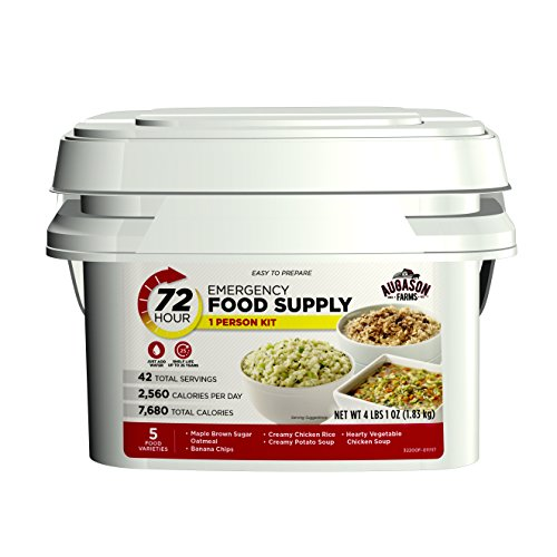 Augason Farms 72-Hour 1-Person Emergency Food Supply Kit 4 lbs 1 oz (Best Emergency Food Supply Kit)