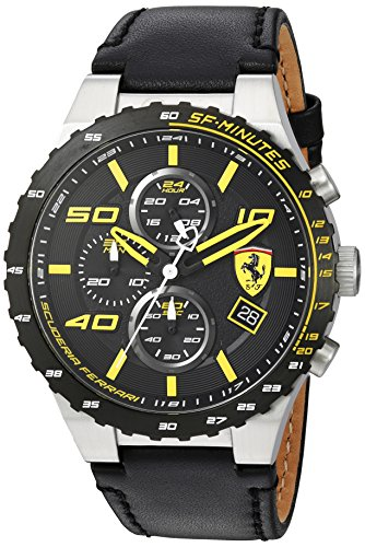 scuderia-ferrari-mens-quartz-stainless-steel-and-leather-casual-watch-colorblack-model-830360