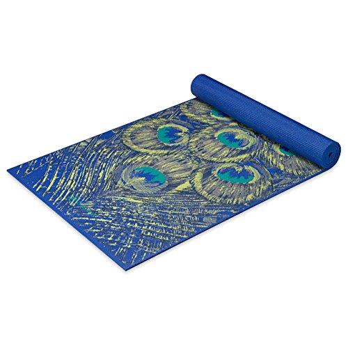 Gaiam Yoga Mat – Premium 6mm Print Extra Thick Non Slip Exercise & Fitness Mat for All Types of Yoga, Pilates & Floor…