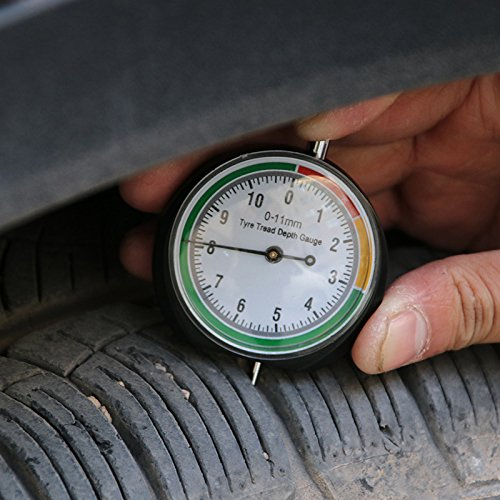 /11/mm//0/ /0.43/inches accessori per auto camion Bike Moto PERG Rate pneumatici profondit/à del battistrada profondimetro strumento 0/
