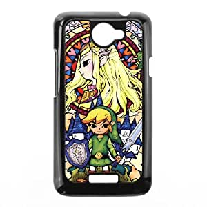 HTC One X cell phone cases Black The Legend of Zelda fashion phone cases URKL463403