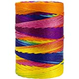 Iris 18-474 Nylon Crochet Thread, 197-Yard, Fiesta Mix