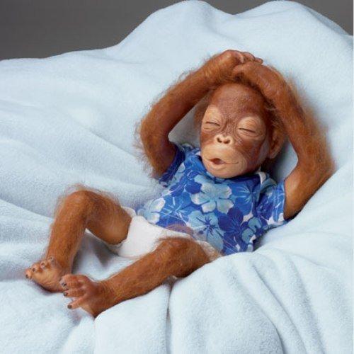 Baby Sekou Ashton Drake Baby Orangutan Doll by Simon Laurens (Ashton Drake Dolls Lauren)