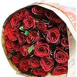 エルフルール ベストセラー1位獲得 赤バラの花束 30本 結婚記念日 プレゼント 薔薇 誕生日祝い 贈り物 バレンタイン クリスマス プロポーズ