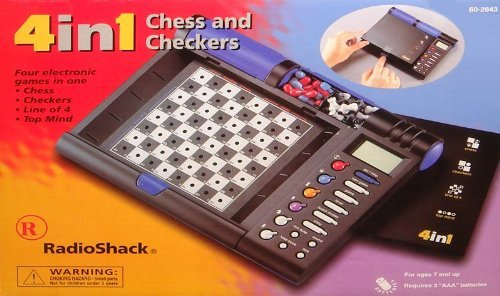 Portable Chess Computer (Radio Shack 4 in 1 Electronic Chess and Checkers)