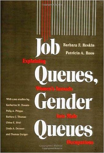 Job Queues, Gender Queues: Explaining Women's Inroads into Male