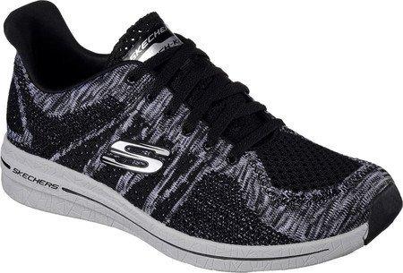 Skechers Burst (Black/White) - 9