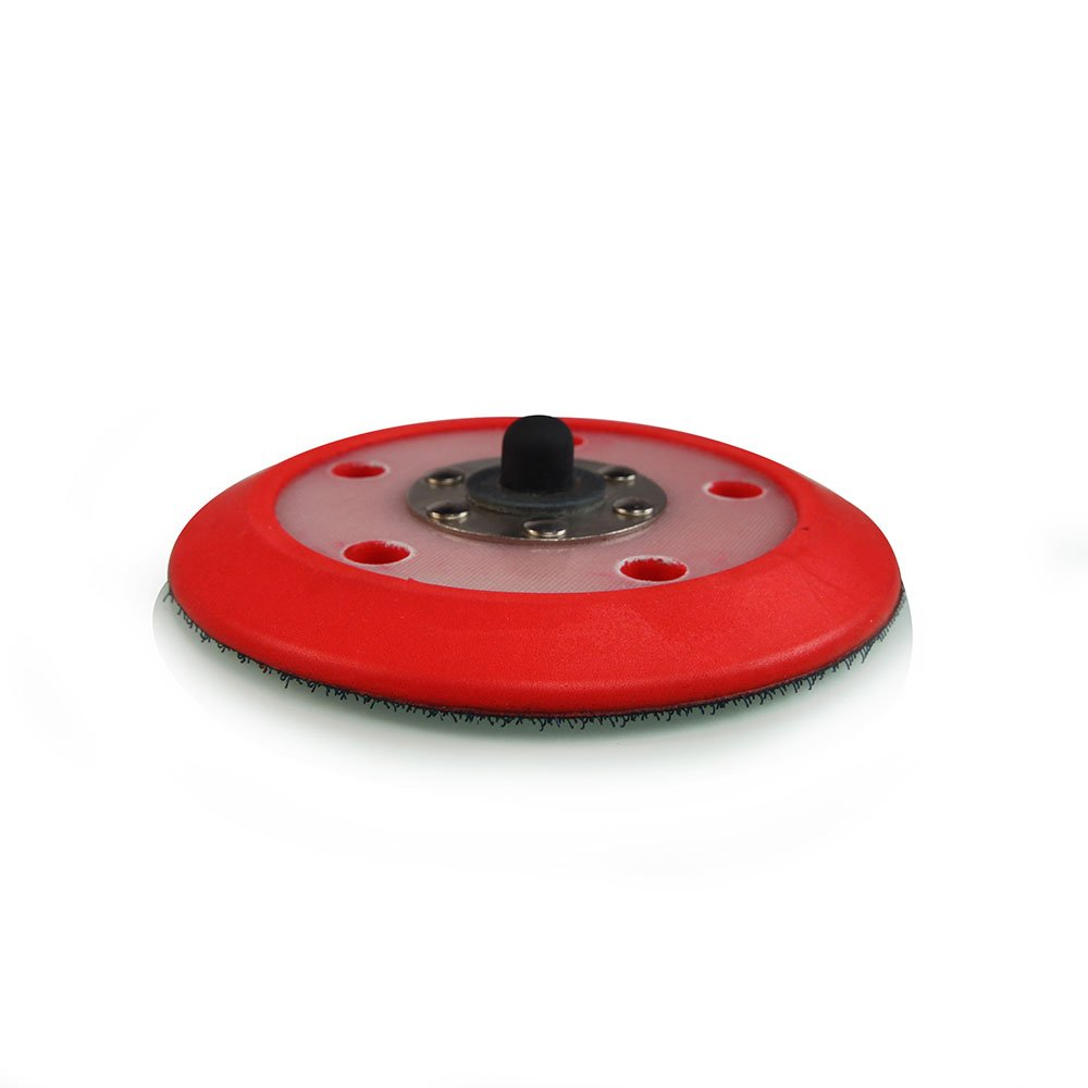 TORQ R5 Rotary Backing Plate with Hyper Flex Technology, Red (3 Inch) Chemical Guys BUFLC_300