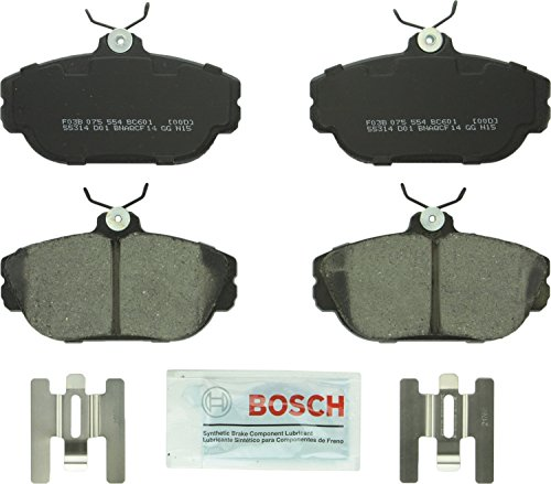 (Bosch BC601 QuietCast Premium Ceramic Disc Brake Pad Set For Ford: 1994-2003 Taurus, 1995-1998 Windstar; Lincoln: 1993-1994 Continental; Mercury: 1994-2000 Sable; Front)