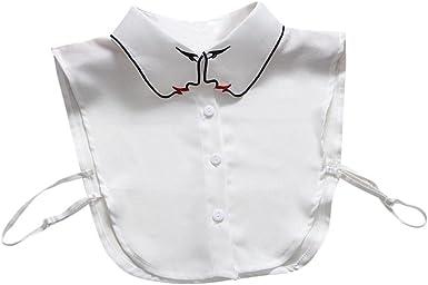 Vintage Detachable Collar False Collar Lapel Blouse Top Clothes for men women