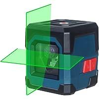Nivel Láser Verde,HANMATEK LV1G Láser Nivel Cruzado Horizontal