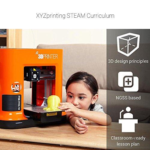 XYZprinting da Vinci Mini 3fm1wxeu00h Printer w - Buy Online