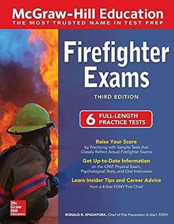 Barron's canadian firefighter exams | book by trevor edmonds.