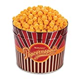Popcornopolis Gourmet Popcorn 1.26 Gallon Tin (Cheddar)