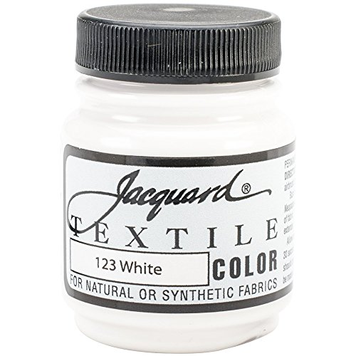 Jacquard Textile Paint 8 oz White