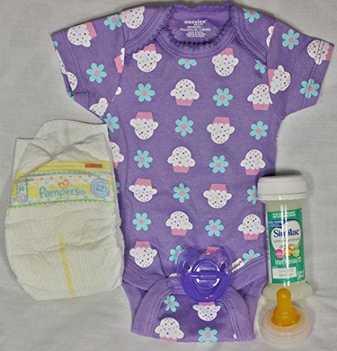 Reborn Formula Bottle Pacifier Diaper product image