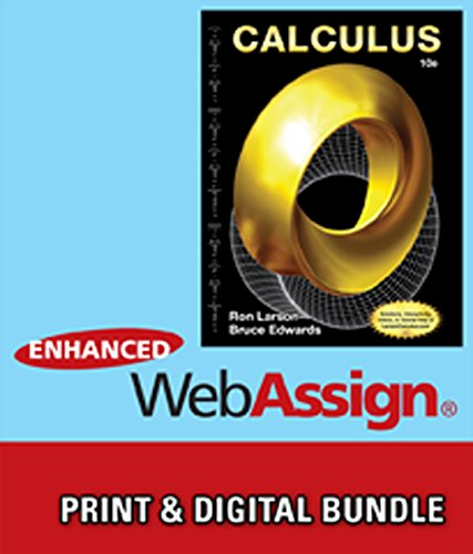 Bundle: Calculus, 10th + WebAssign Printed Access Card for Larson/Edwards' Calculus, 10th Edition, Multi-Term -  Ron Larson, Hardcover