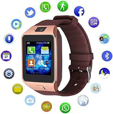 Kivors® DZ09 Reloj inteligente con Bluetooth, con correa ...