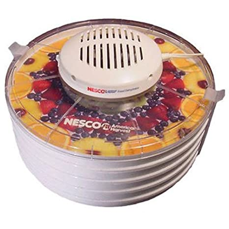 Nesco FD-37 400W Color blanco secador de fruta - Deshidratador de fruta (400 W): Amazon.es: Hogar