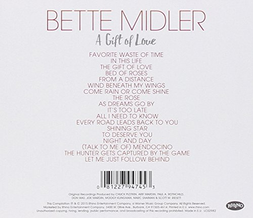 Amazon a gift of love bette midler negle Image collections