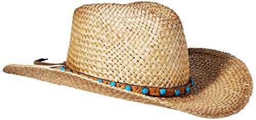 Scala Women's Pinch Front Moroca Hat, Burnt, One Size