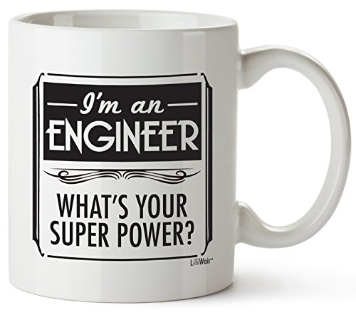 Engineer Gifts For Valentines Day Gift Boyfriend Girlfriend Birthday Engineering Women Men Engineers Adults Funny Best Cool Gag Student Fun An Novelty Creative Students Geek School College Mugs Prime