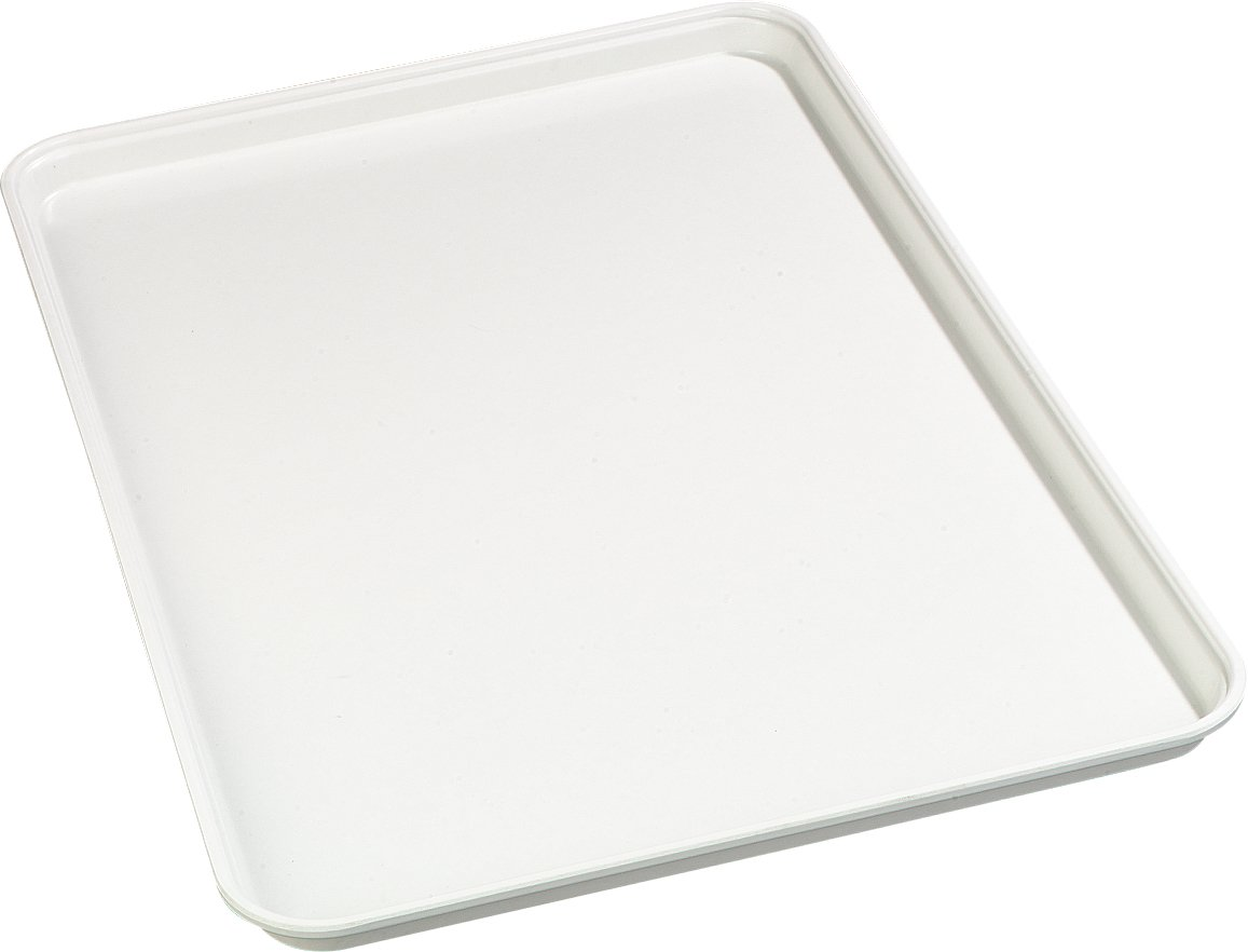Carlisle 1318FMT301 Food Service Display Tray, 13'' x 18'', White (Pack of 12)
