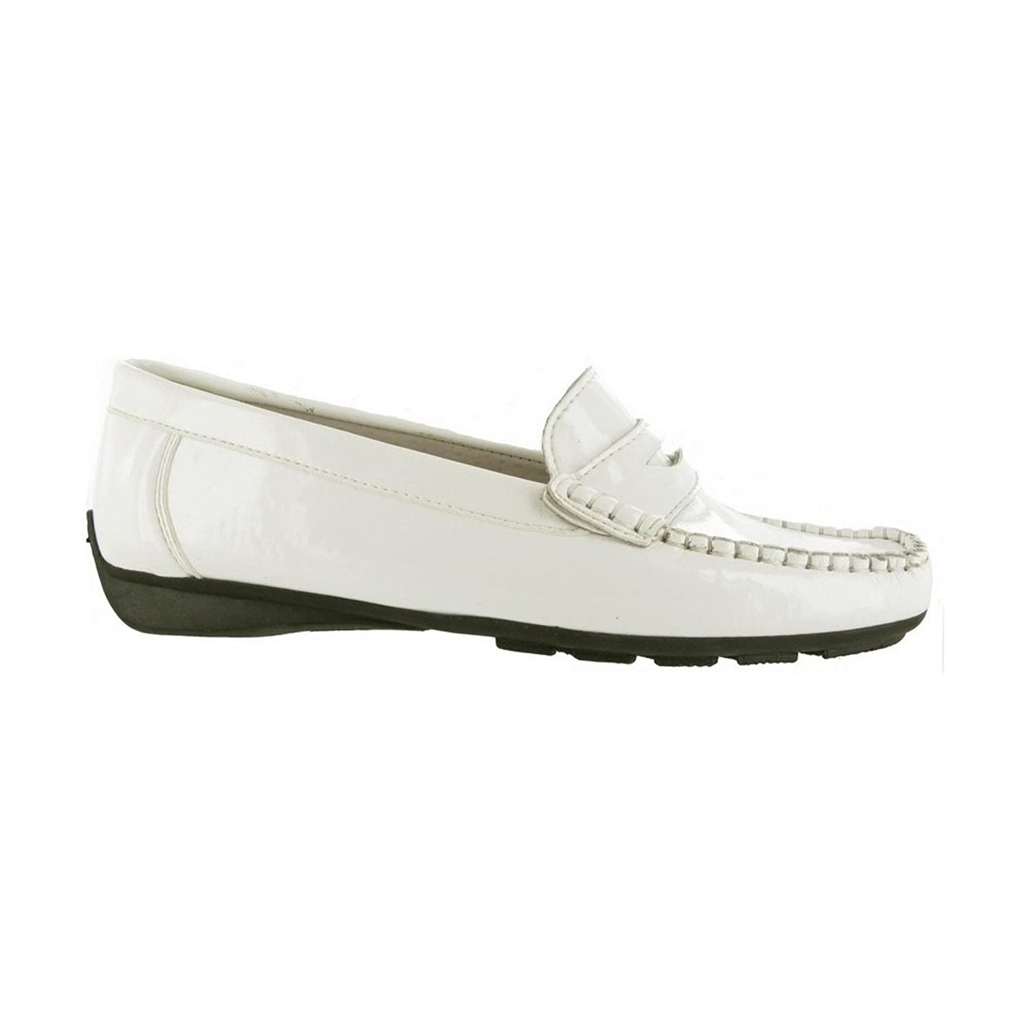 Riva Anaconda Moccasin / Womens Shoes (10.5 US) (White)