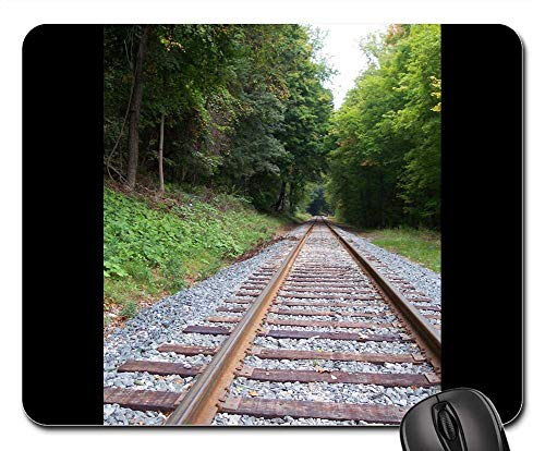 - Mouse Pads - Tracks Railroad Locomotive Train Railway